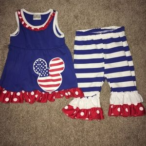 Other - Adorable military inspired set!